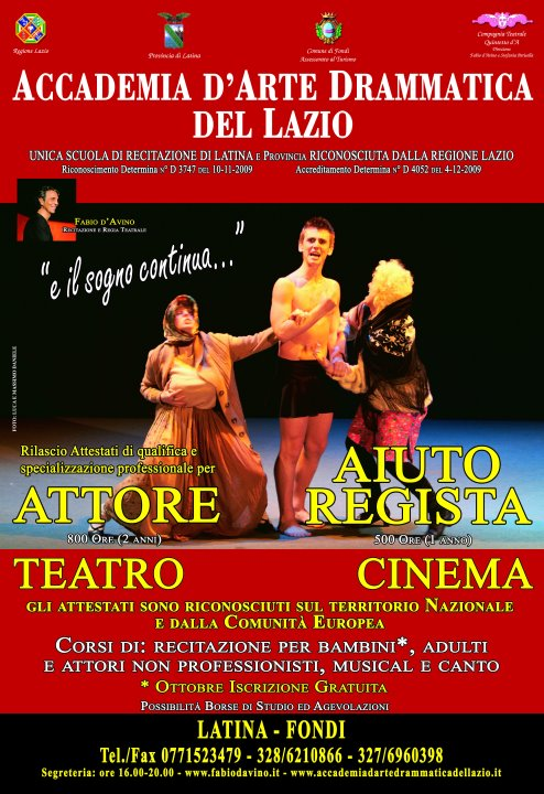 Accademia d'Arte Drammatica del Lazio CORSI