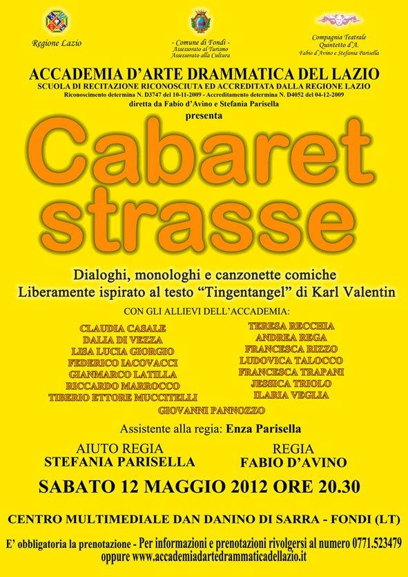 Cabaret strasse 2012