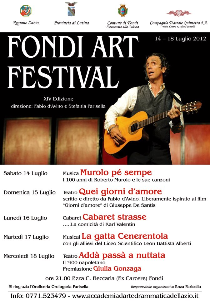 Fondi Art Festival 2012