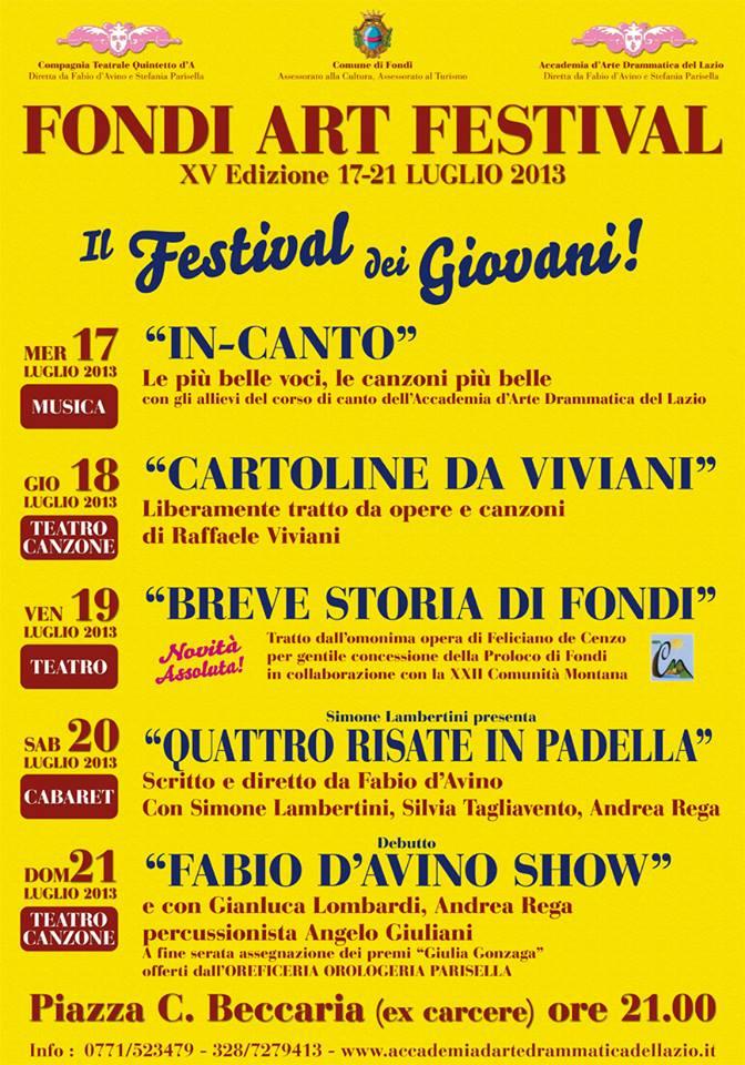 Fondi Art Festival 2013